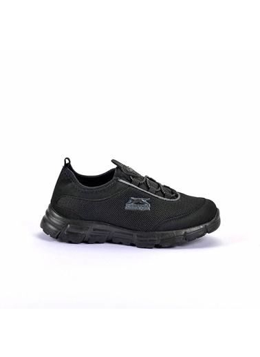 Slazenger Fever Erkek Çocuk Sneaker Ayakkabı Siyah